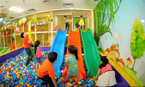 Indoor Playground and Ball Pool