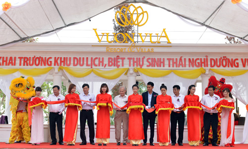 TIG officially celebrates the launch of Vườn Vua Resorts and Villas