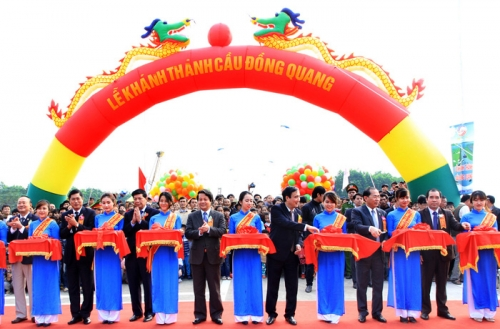 Đồng Quang Bridge Inauguration: Only over 3 km from Ba Vì, Hanoi to Vườn Vua Resorts